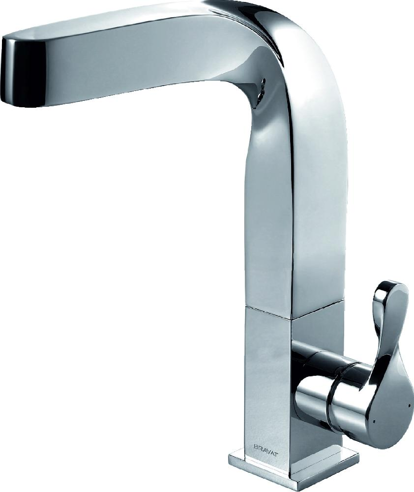 Full Details of Bravat Wave Faucets-Taps - Single Lever Basin Mixer Tall