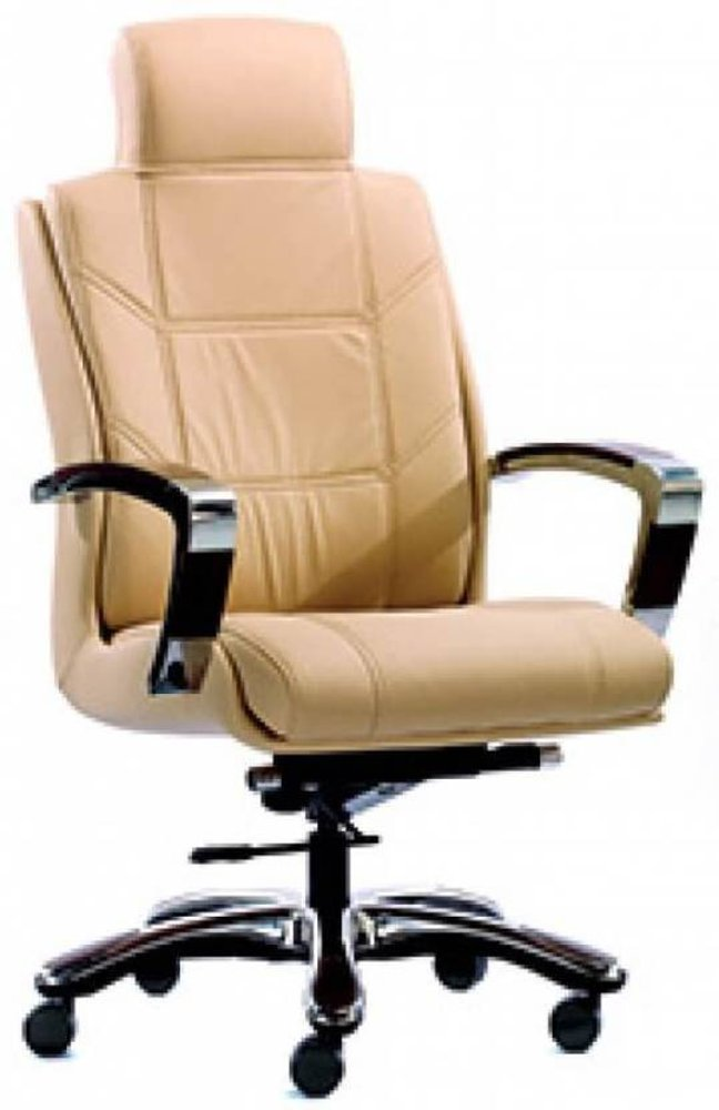 HOF Zydo Leatherette Office Chair (Black),HOF, Premium, Chairs-Stools ,Pushback Chairs ,Revolving Chairs