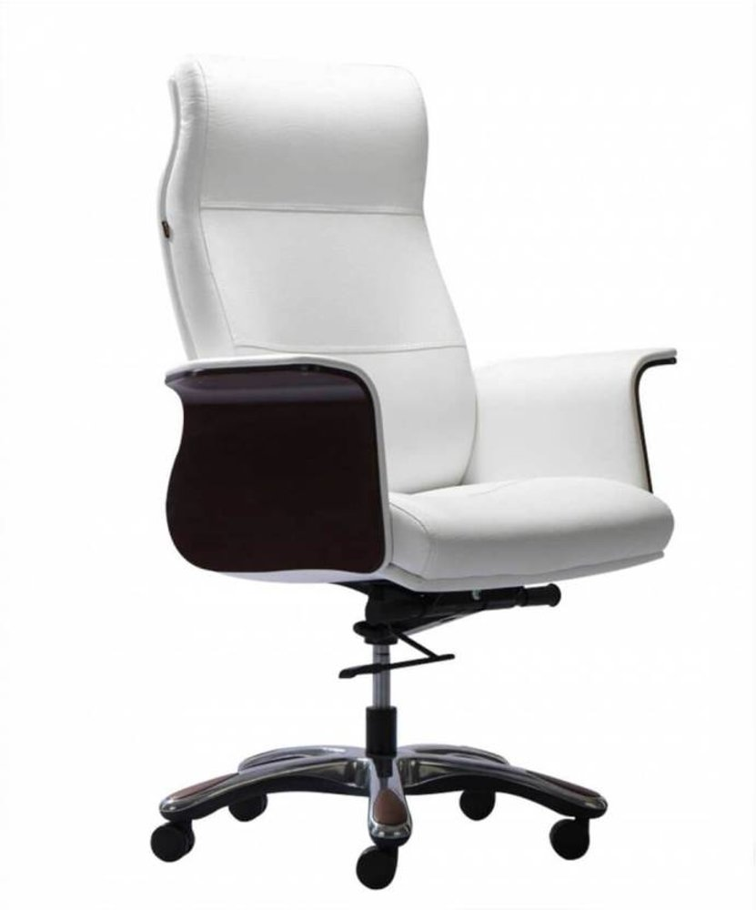 HOF Premium Leather Office Chair - LUZO - 521,HOF, Premium, Chairs ,Pushback Chairs ,Revolving Chairs