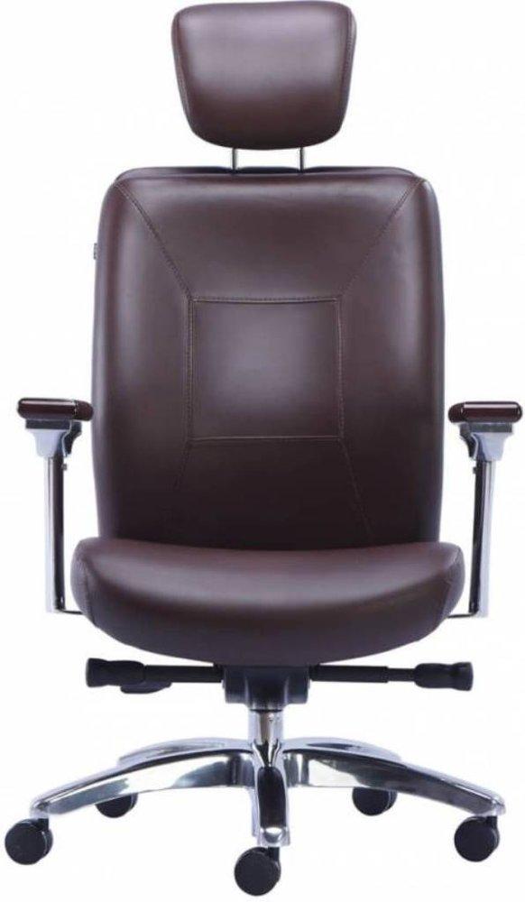 HOF Premium Comfortable Leather Office Chair - BOSS - 421,HOF, Premium, Chairs ,Revolving Chairs ,Pushback Chairs