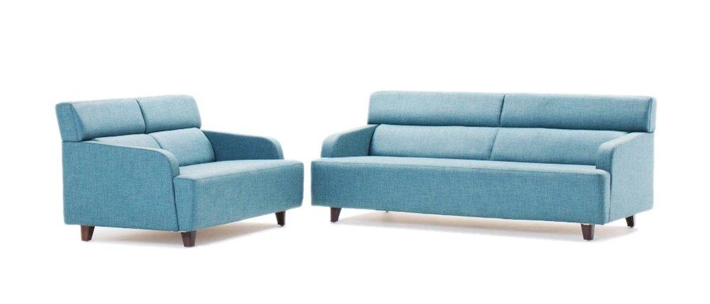 HOF Premium Fabric Sofa - CIPRIO - 2 plus 2 Seater,HOF, Ciprio, Sofas-Couches