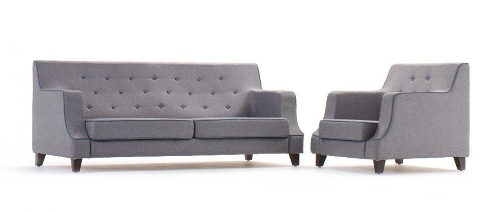 HOF Premium Fabric Sofa - RENZO - 2 Seater,HOF, Renzo, Sofas-Couches
