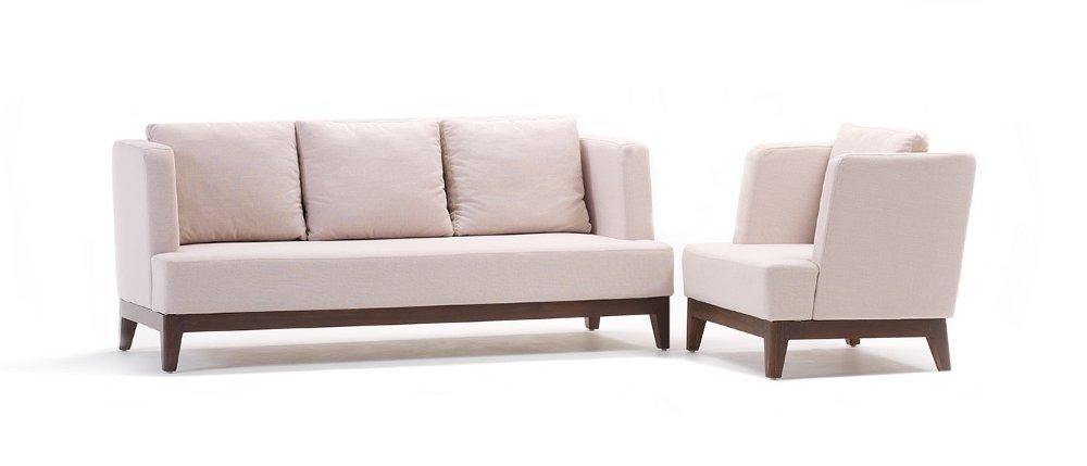 HOF Premiun Fabric Sofa - VERA Sofa Set (3+1 Seater),HOF, Vera, Sofas-Couches