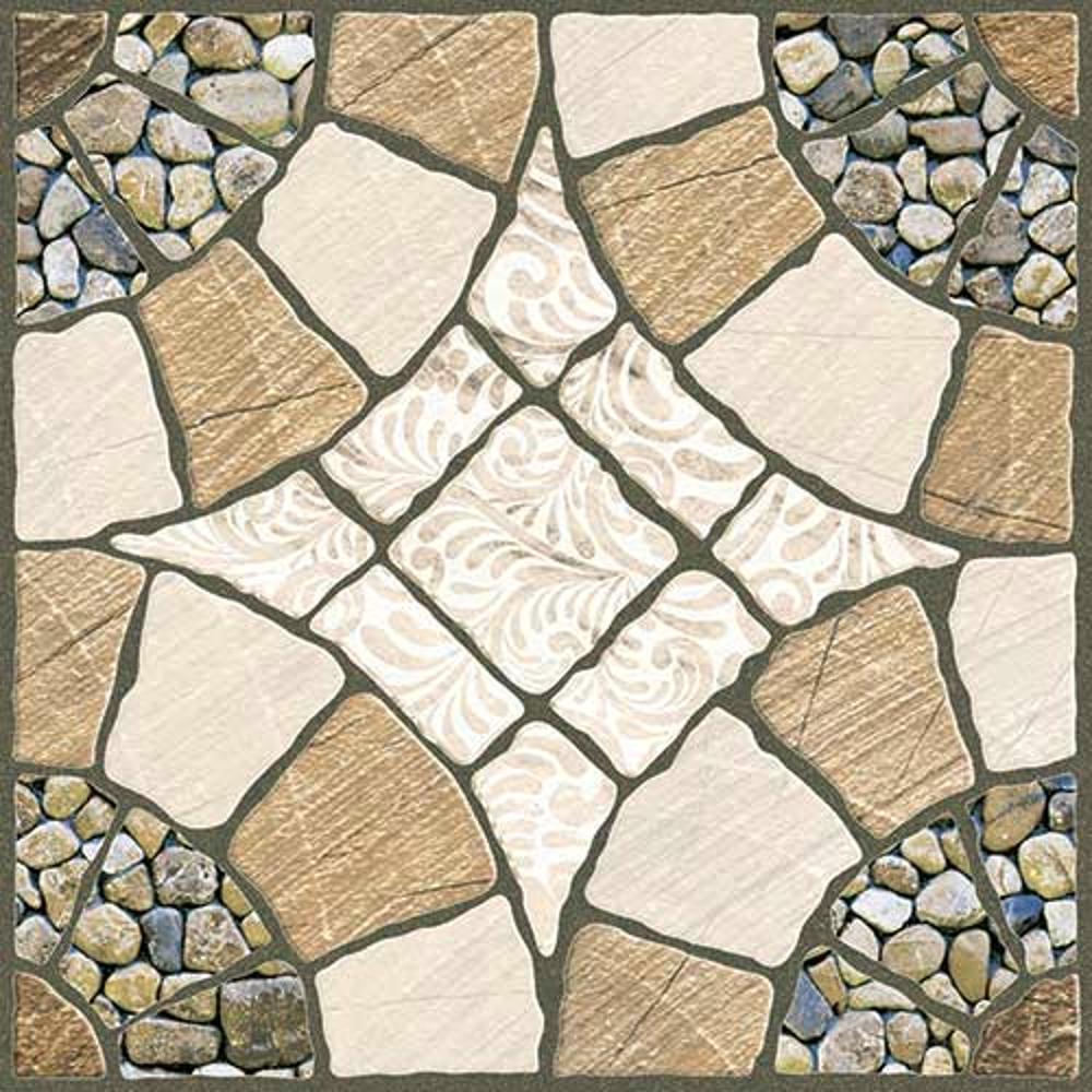 Lapis Crema,Rokedge, Cobble Stone, Tiles ,Vitrified Tiles Glazed Vitrified Tiles