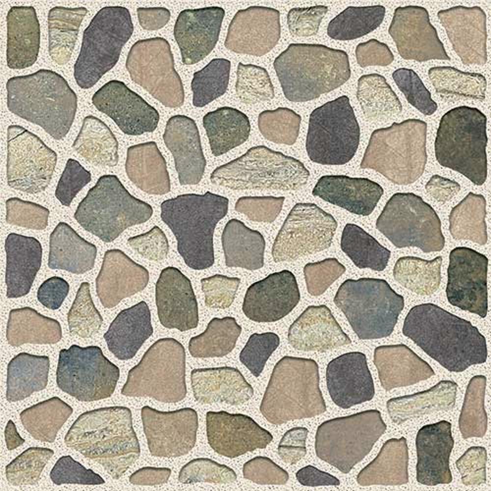 Sasso Brown,Rokedge, Cobble Stone, Tiles ,Vitrified Tiles Glazed Vitrified Tiles