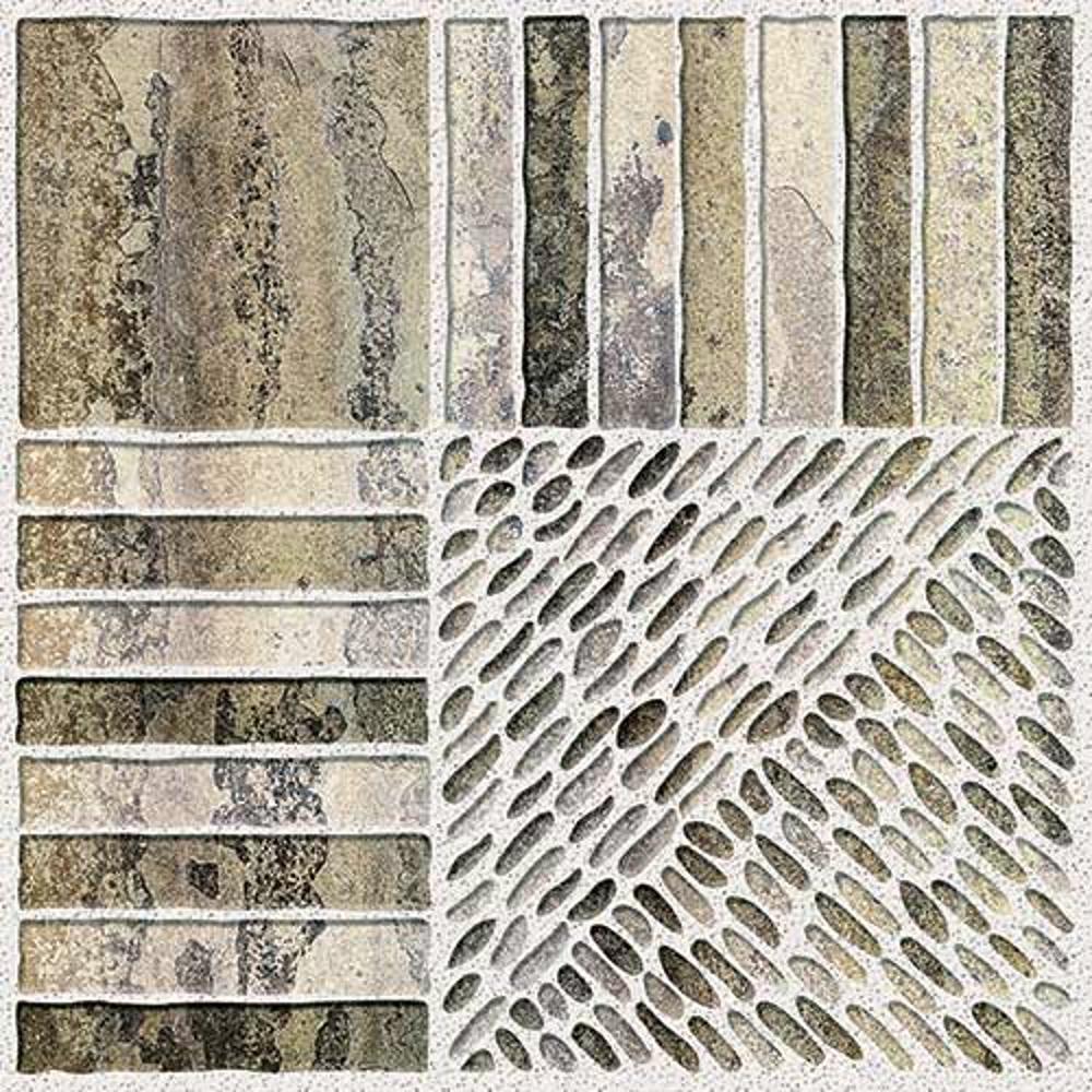 Skala Brown,Rokedge, Cobble Stone, Tiles ,Vitrified Tiles Glazed Vitrified Tiles