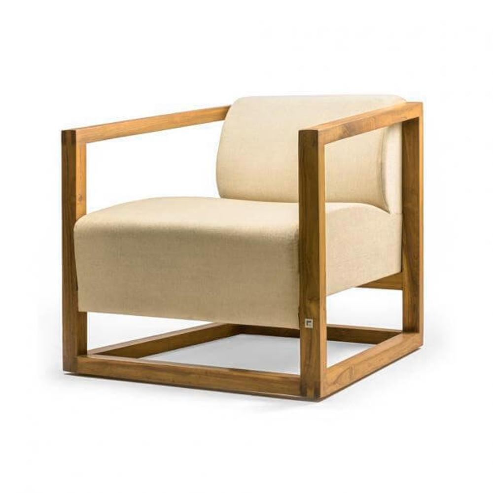 Carree Arm Chair,Tectona Grandis, Chairs