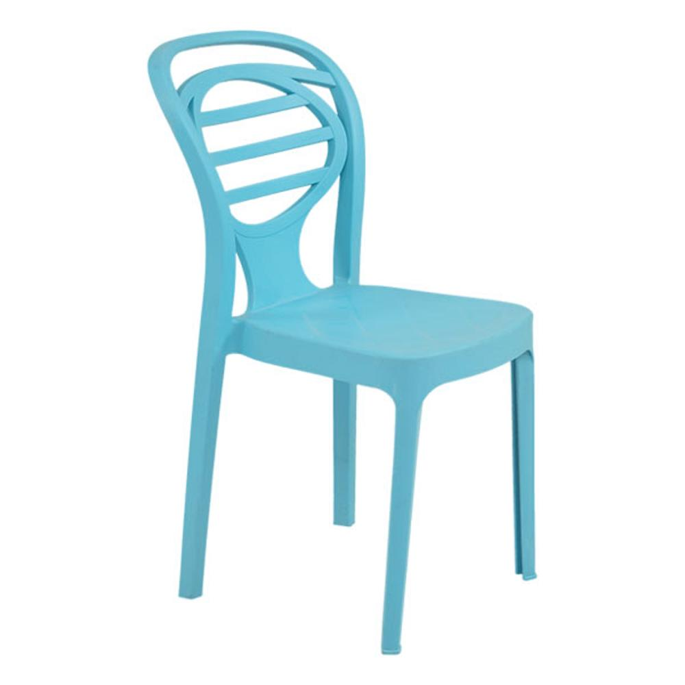 Oak Acqua Blue,Supreme, Chairs ,Stackable Chairs