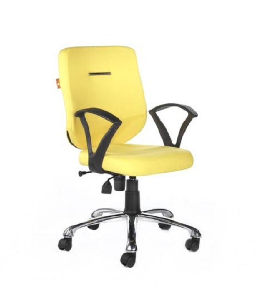 Ebuzz Mid Back Office Chair,Bluebell, Chairs ,Revolving Chairs