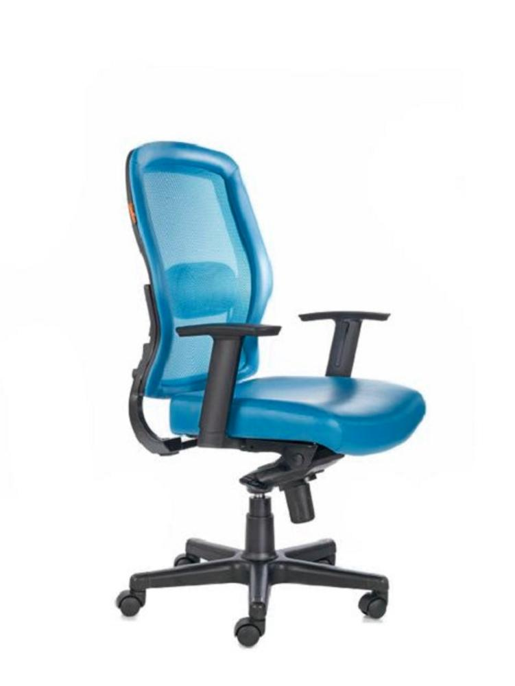 Vecta Mid Back Premium Office Chairs,Bluebell, Chairs ,Revolving Chairs