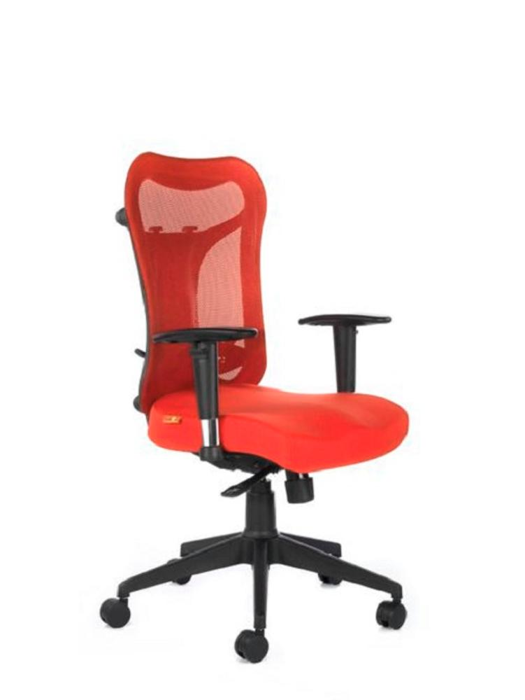Kruz Mid Back Office Chair,Bluebell, Kruz, Chairs ,Revolving Chairs