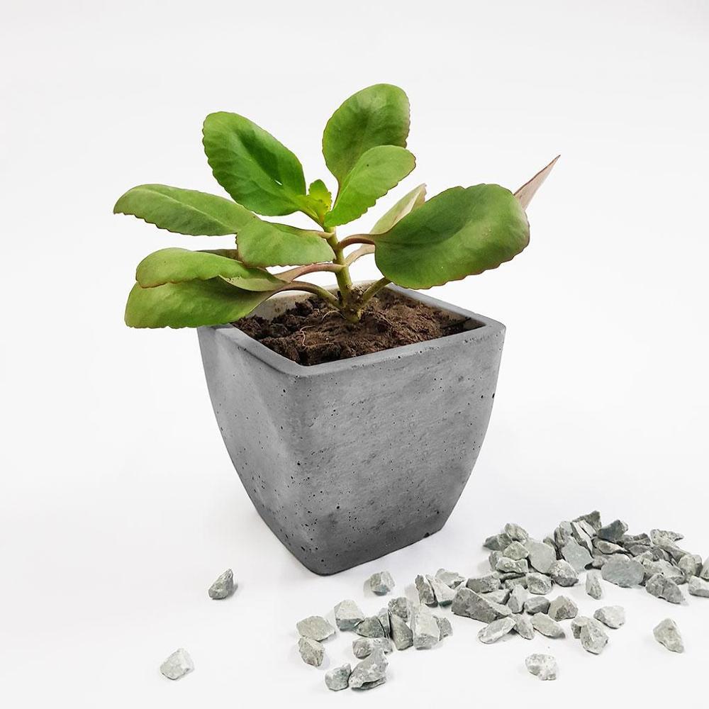 Concrete Table Planter 01,Gomaads, Exterior Decor Elements ,Pots & Planters