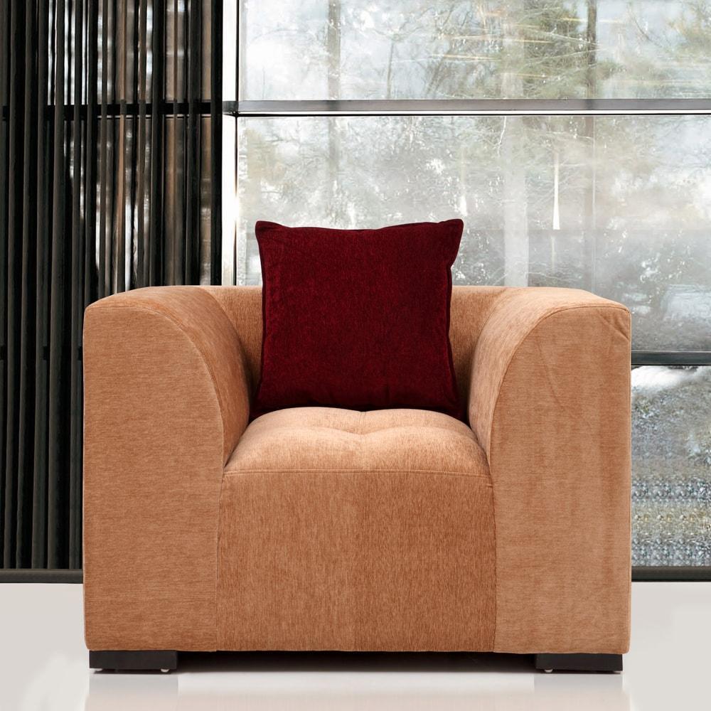 Roland Fabric 1 Seater Sofa,Evok, Sofas-Couches