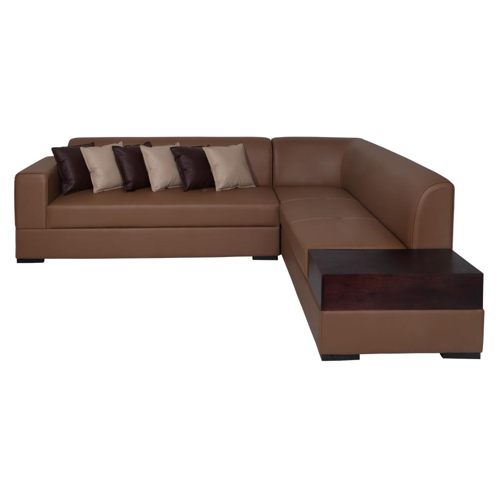 Alden Leatherette Sofa Right,Evok, Sofas-Couches ,Sectional Sofas