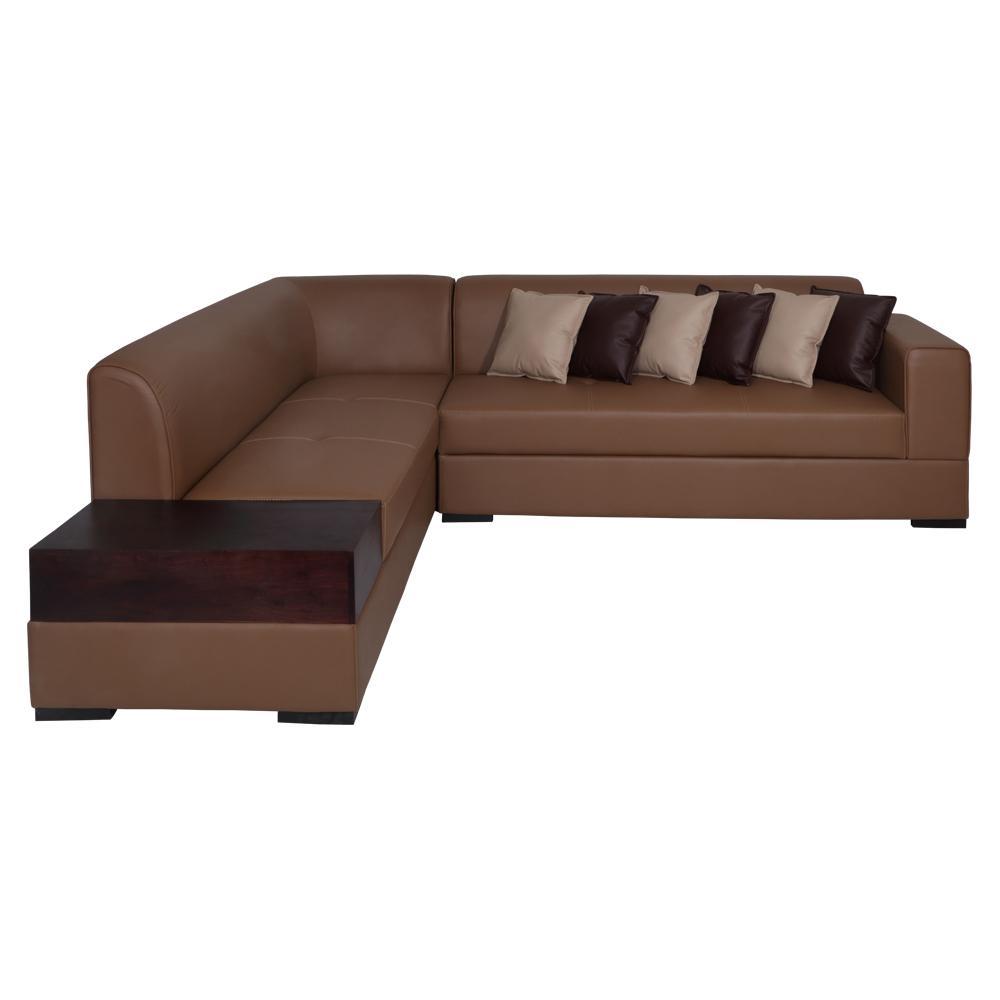 Alden Leatherette Sofa Left,Evok, Sofas-Couches ,Sectional Sofas
