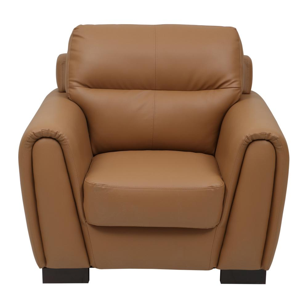 Webster Leatherette 1 Seater Sofa,Evok, Sofas-Couches ,Sectional Sofas
