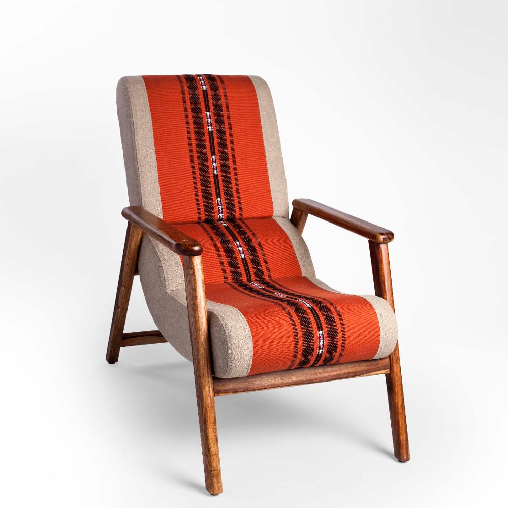 Naga Shawl Lounge Chair with Detachable Surface and Knob,Sihasn, Naga Shawl, Chairs